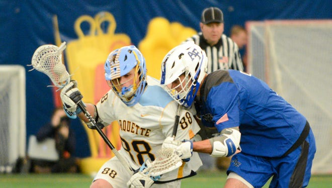 Marquette's Ryan McNamara was selected in the MLL draft on Monday.