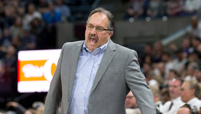Stan Van Gundy was 152-176 in 4 years as Pistons president and coach.