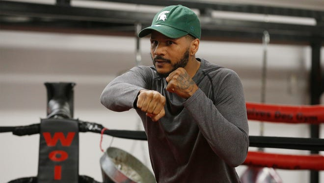 """Former 168-pound World Champion Anthony Dirrell takes on El Paso's Abraham """"ABIE"""" Han in the co-main event, Saturday night during a night of boxing in the Don Haskins Center."""