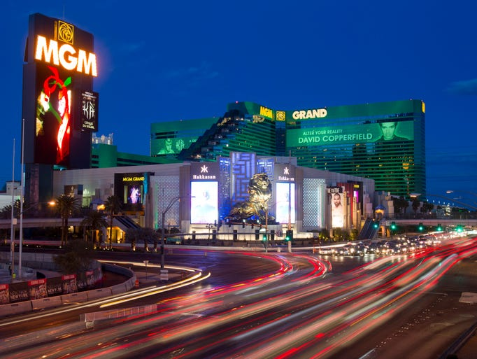 Our February gallery takes us to the MGM Grand, a staple on the Strip after 20 years.