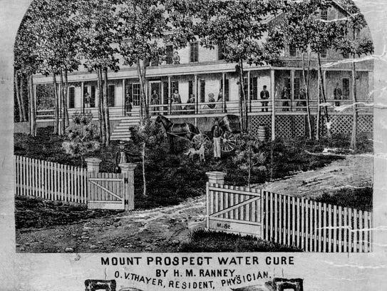 The Binghamton Water Cure on Mount Prospect.