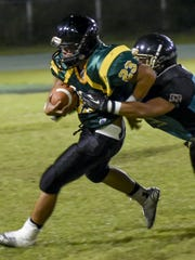 The JFK Islanders took on the Southern High Dolphins in an IFL playoff game at JFK on Oct. 10.