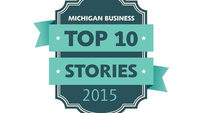 Michigan business top 10 stories