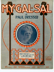 "Paul Dresser wrote ""My Gal Sal"" the year before his"