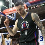 J.J. Redick scored a game-high 23 points for the Clippers.