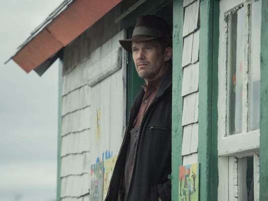 "In ""Maudie,"" Everett (Ethan Hawke) recognizes the potential"