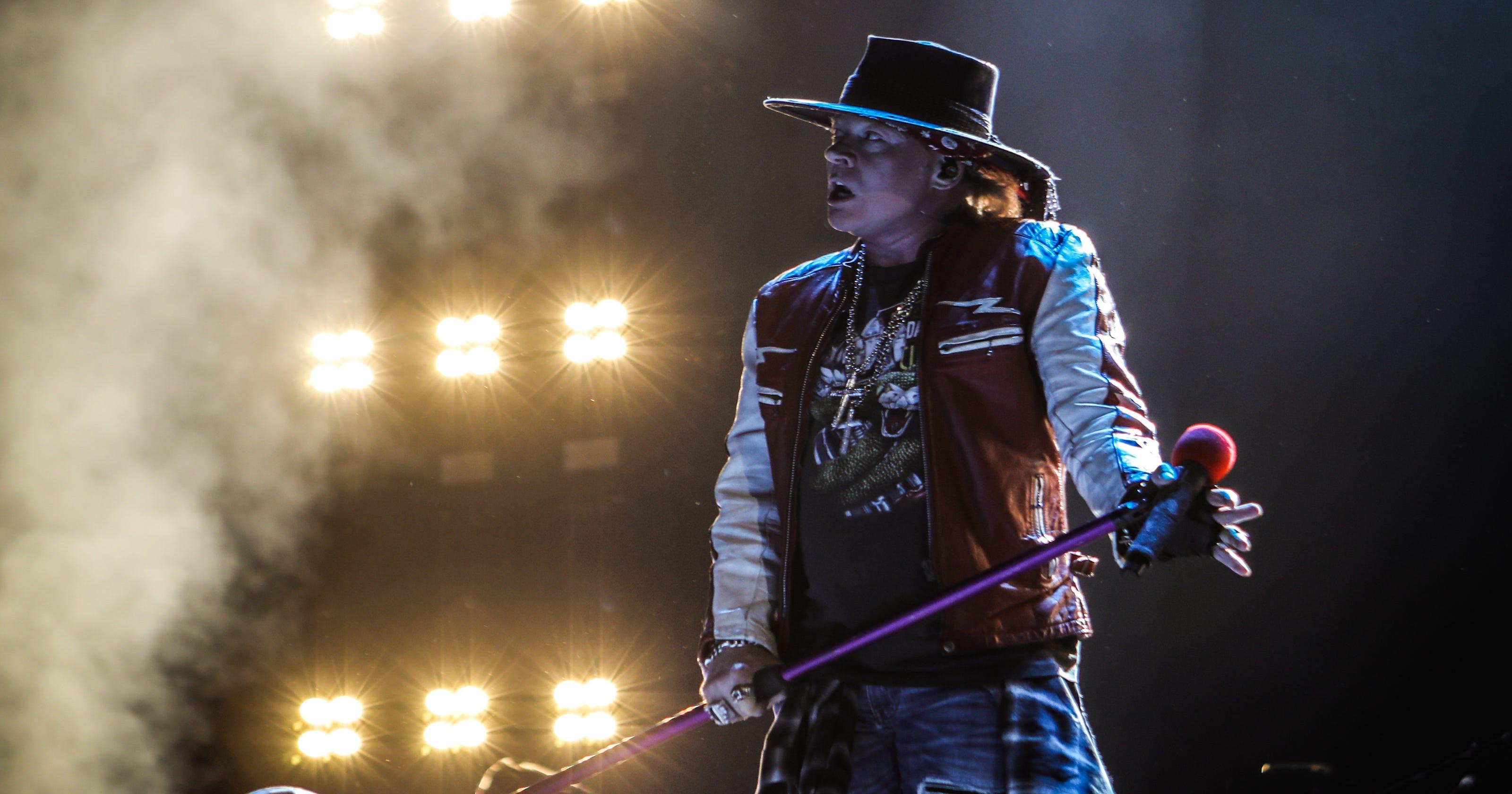 Guns N' Roses reschedules Summerfest amphitheater show for July 10, 2021