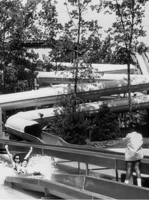 1991: Riders on Adventure Rivers at Six Flags Great Adventure