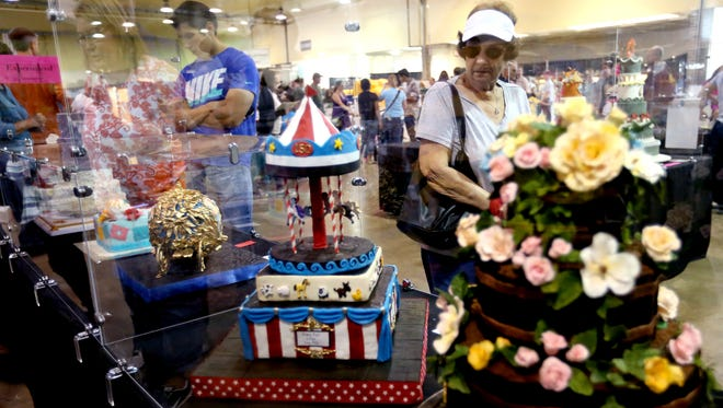 Cake decorating is one category of the Oregon State Fair's Creative Living Competition.