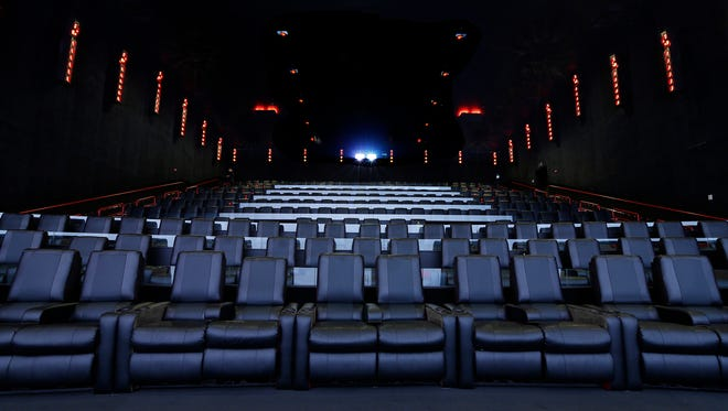 Dolby Cinema with AMC Prime at AMC16 in Burbank, California, Monday, October 5, 2015.