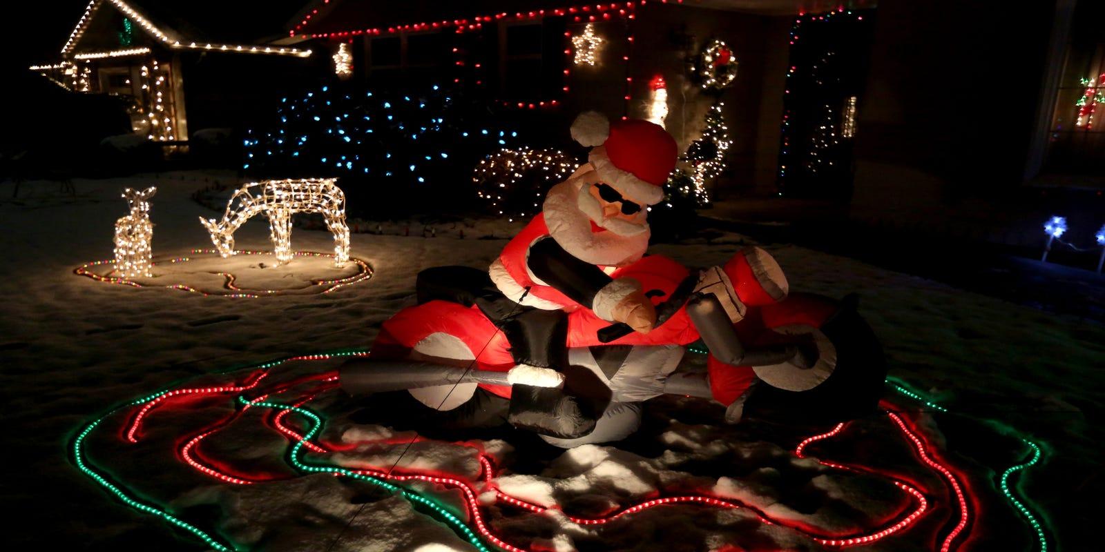 Keizer Miracle of Christmas lights display