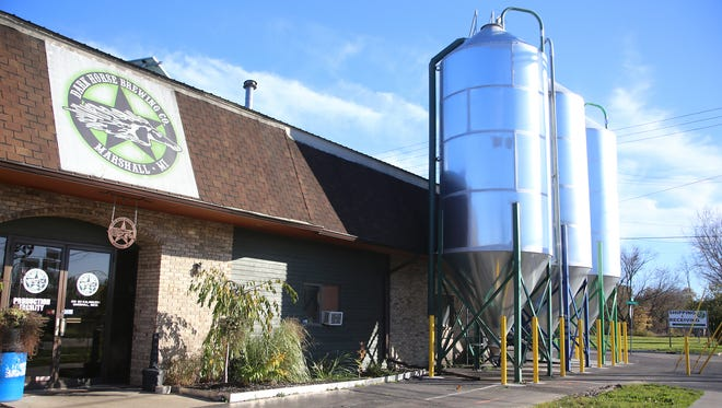 Dark Horse Brewing, Co. is a local brewery founded by Aaron Morse, 40, and it is located in Marshall, Mich. at 511 S. Kalamazoo Ave.