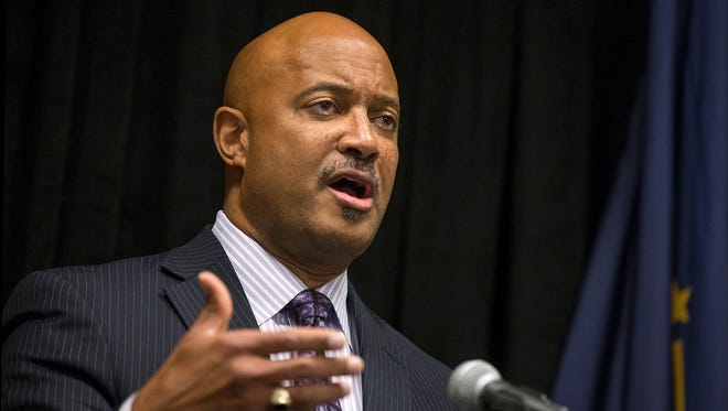 Indiana Attorney General Curtis Hill issued a statement citing Wayne County in his opposition to Marion County beginning a needle exchange program.