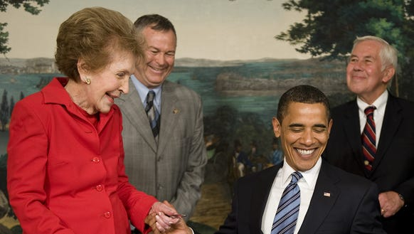This file photo taken on June 02, 2009 shows President