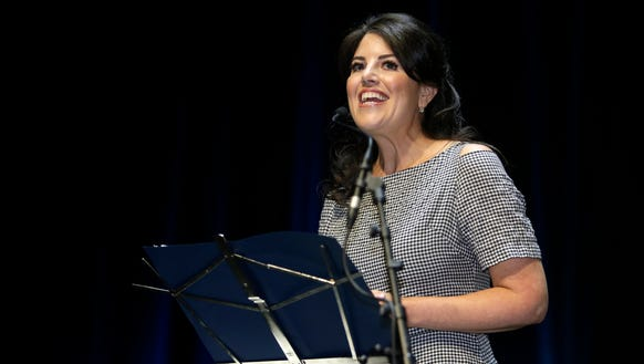 In this June 25, 2015, file photo, Monica Lewinsky