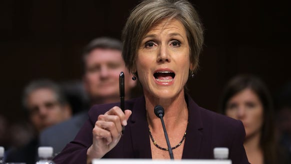 former acting attorney general sally yates on capitol - Attorney General Job Description