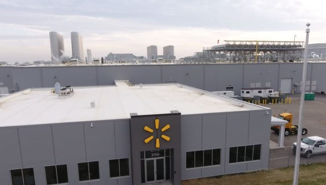 Fort Wayne's new Walmart milk procession plant at 2150 West Pleasant Center Road will produce the company's Great Value brand white and chocolate milk for nearly 500 Walmart stores in Indiana, Illinois, Michigan, Ohio and Kentucky.