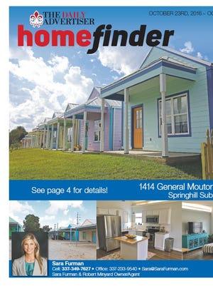 Homefinder, Nov. 27, 2016