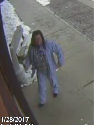 A woman suspected of stealing a Sharpei mix puppy from the Fox Valley Human Association on Saturday morning. She's described as middle-age, of medium build and has long, dark hair. She was seen driving an older model car that was dark in color.