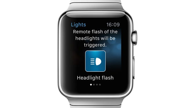 BMW's Apple Watch app will let drivers perform many functions.