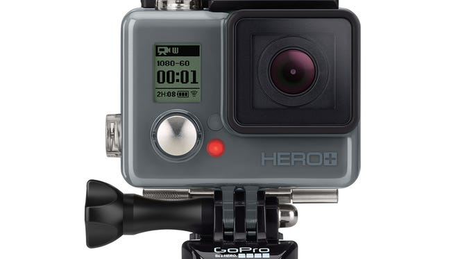 GoPro's Hero+ waterproof Wi-Fi and Bluetooth-enabled camera.