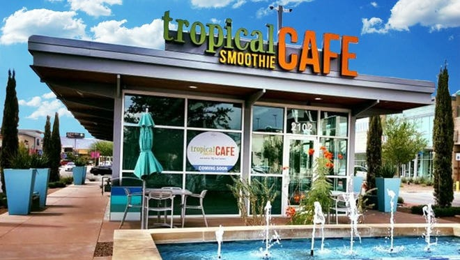 Tropical Smoothie Cafe has opened its second El Paso location in The Fountains at Farah shopping center at Interstate 10 and Hawkins Boulevard.