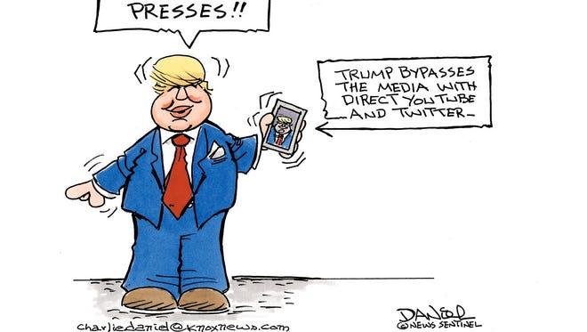 Charlie Daniel's editorial cartoon for Monday, Dec. 5, 2016.