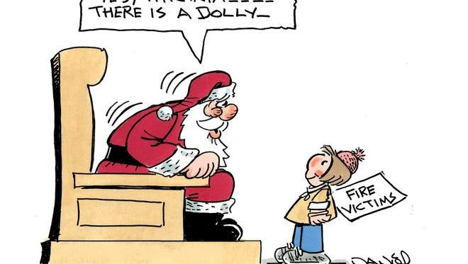 Charlie Daniel's editorial cartoon for Friday, Dec. 16, 2016.