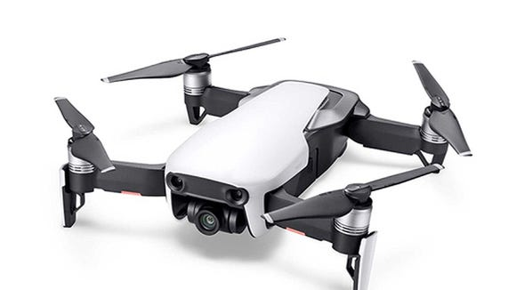 DJI's Mavic Air drone is smaller and lighter than the