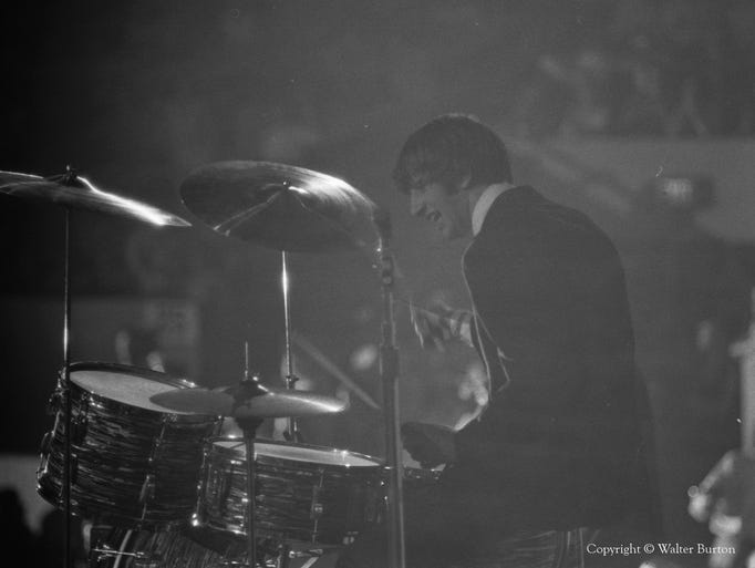 Ringo Starr on drums.