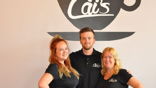 Cai's Cafe at 420 Main Street opened its doors on Wednesday, Oct.18.