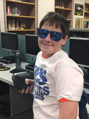 Kurt Hassenplug, a seventh-grader at Klondike Middle School, said his favorite part of VEX Robotics is honing the robots the teams build, but the most important skill is being able to work well with others.