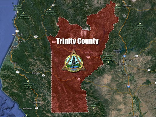 #stockphoto - Trinity County map