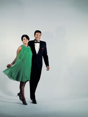 Marvin Gaye and Tammi Terrell were Motown's leading