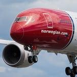 A Norwegian Air Shuttle Boeing 787 Dreamliner.