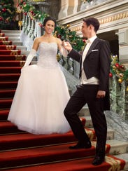 """In the Hallmark movie """"A Royal Christmas,"""" starring"""
