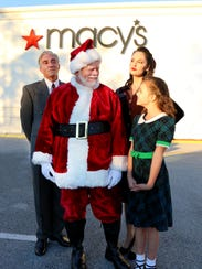 Jim Heffernan plays a Macy's department store Santa