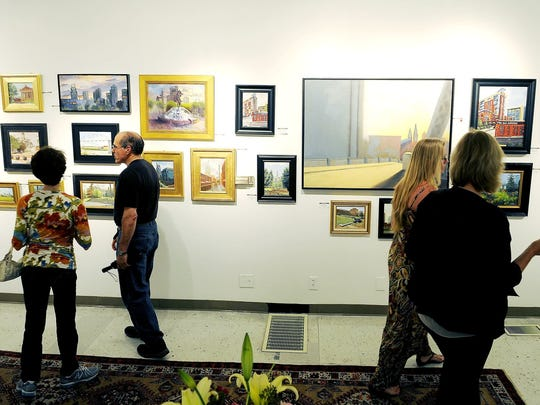 The First Saturday Art Crawl along Fifth Avenue of the Arts in downtown Nashville is one of several free art-themed nights out every month.