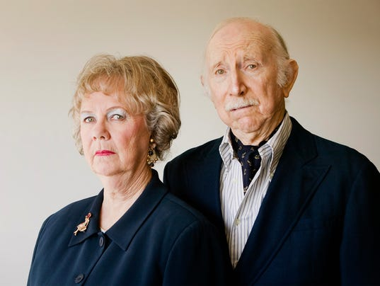 Snooty Senior Couple with Strong Woman