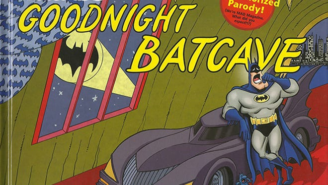 """""""Goodnight Batcave"""" is surprisingly kid-friendly for a book by """"MAD"""" magazine."""