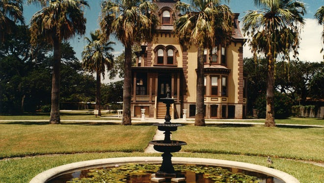 Fulton Mansion in Rockport Texas in 1995.