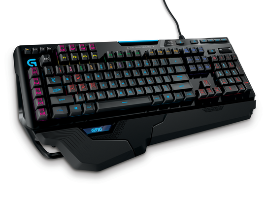 The Logitech G910 Orion Spark keyboard.