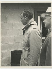 Clark Gable at Indianapolis 500.
