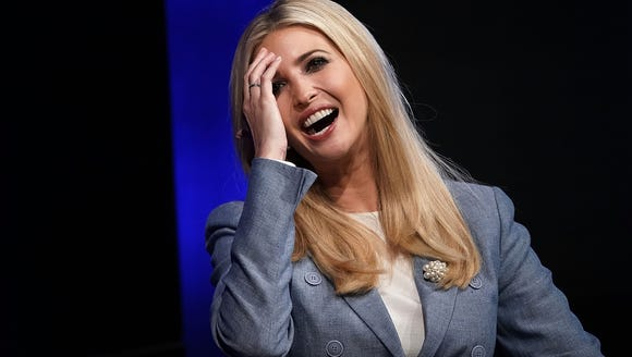Ivanka Trump, a White House adviser and daughter of