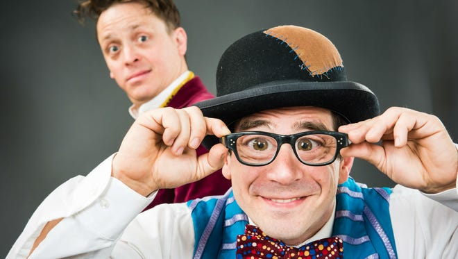 Matt Morgan and Mark Gindick host Miracle Cure as part of the Cirque Du Fringe.