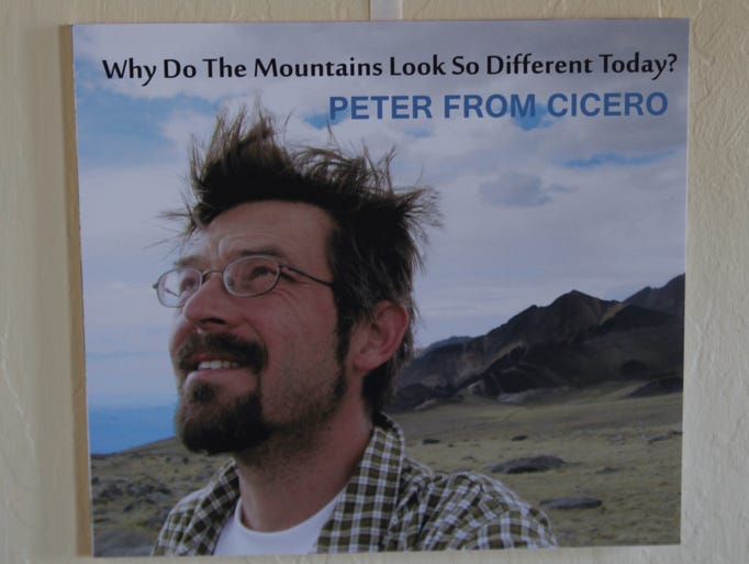 Peter Kwiek's new CD was introduced to the public on Saturday, May 10, 2014 at a party in his home. Details: peterfromcicero@gmail.com