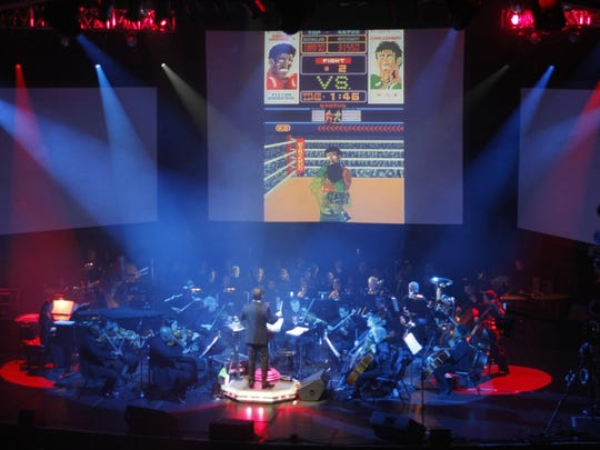 Video Games Live, pictured at the Count Basie Theatre in Red Bank in 2012.