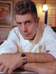 Anthony Bourdain in 2001.