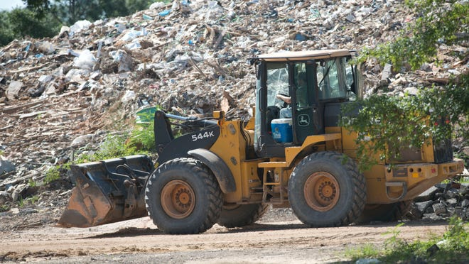 The Rolling Hills Construction and Demolition Recycling Center located in the Wedgewood community collects debris for processing at its Rolling Hills Road Facility.
