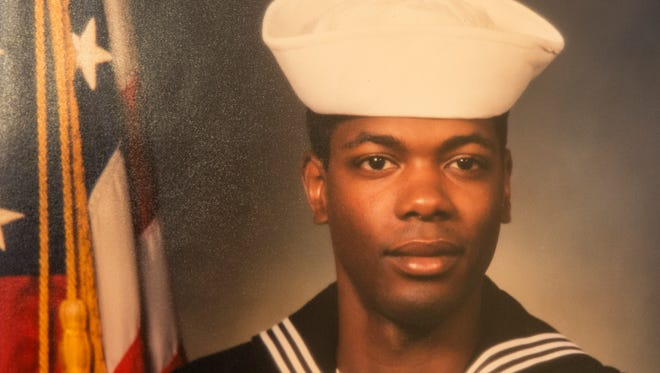 Suliman Abdul-Mutakallim, in an undated photo. He spent three years in the Navy and served during the Iraq War. Abdul-Mutakallim was fatally shot during a robbery in South Cumminsville on June 28, 2015.